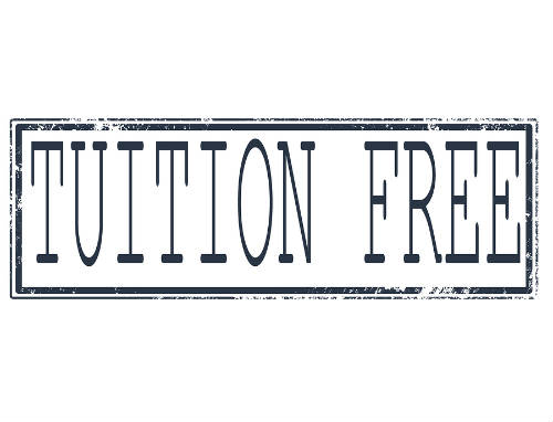 tuition free colleges
