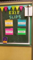 Simple way to organize and collect student concerns.