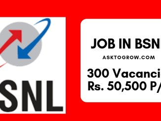 bsnl 2018 management trainee