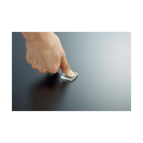 【アスクル】トラスコ中山(TRUSCO) TRUSCO 耐震・防振・防音Gマット 20×20mm 4個 透明 TR-GM20-TM 1袋(4個) 416-3109 ...