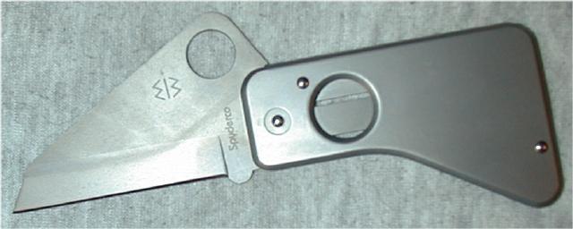 AQDWR Spyderco SpyderCard