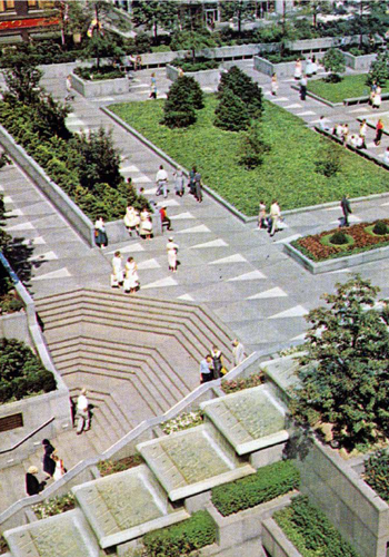pittsburgh mellon square restored