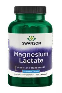 Magnesium lactate supplements