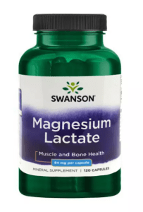 Magnesium lactate supplements