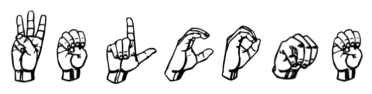 Image result for welcome in sign language