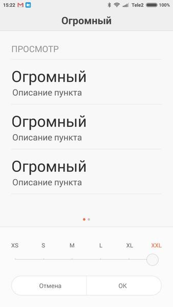 Xiaomi Redmi Note 2 - Font 2