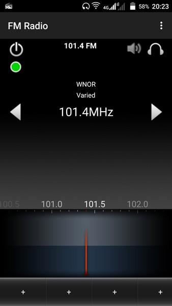 ZTE V5 Pro - FM tuner