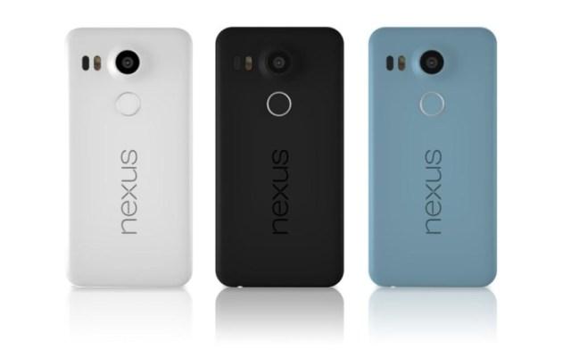 Google Nexus 5X - Colors