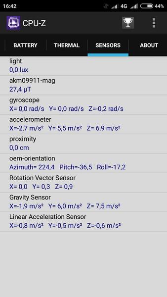 Xiaomi Redmi 2 - CPU-Z 6