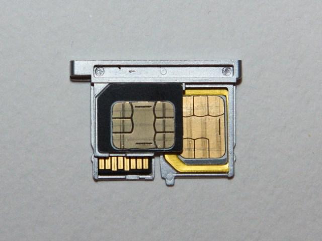 Bluboo Xtouch - SIM tray 3