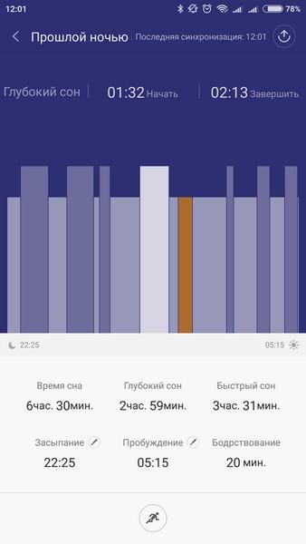 Xiaomi Mi Band 1S - Dream phase
