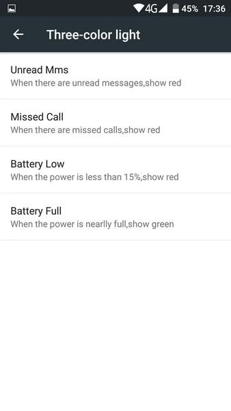Ulefone Power - Led
