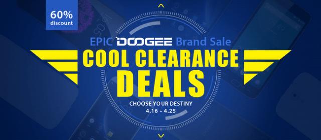 Doogee clearance
