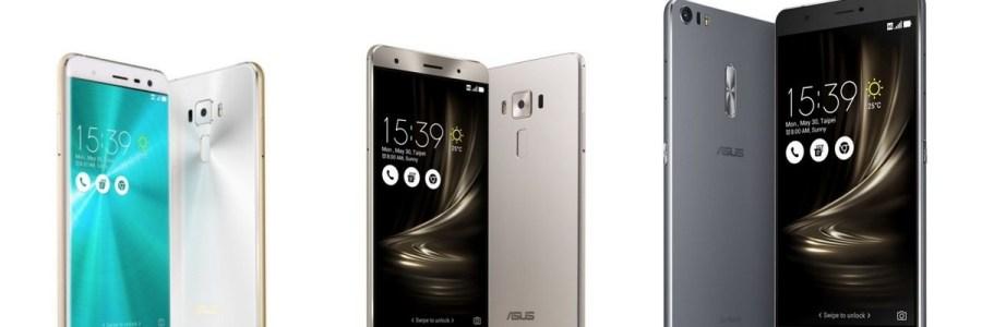 ASUS ZenFone 3 — три новинки от компании ASUS