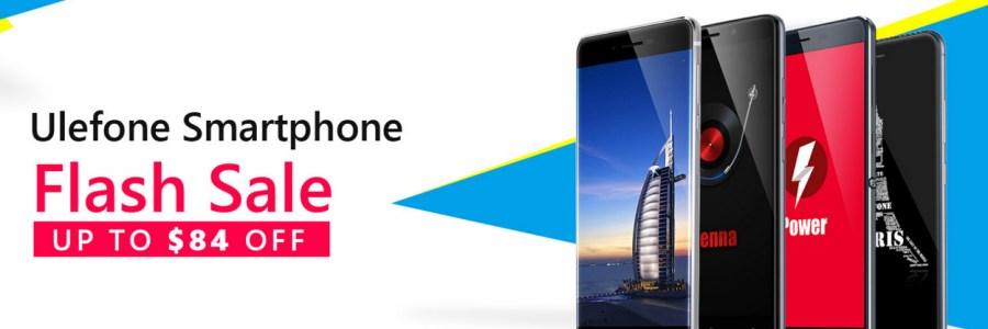 Смартфоны Ulefone — распродажа на Banggood