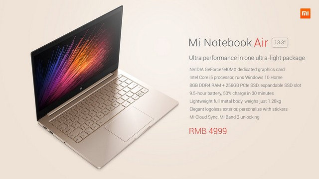 Mi Notebook Air - 8