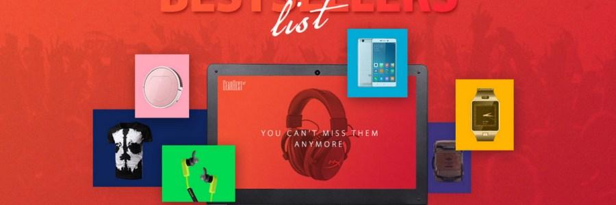 Бестселлеры на распродаже от GearBest