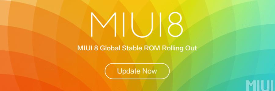 Релиз международной стабильной версии MIUI8