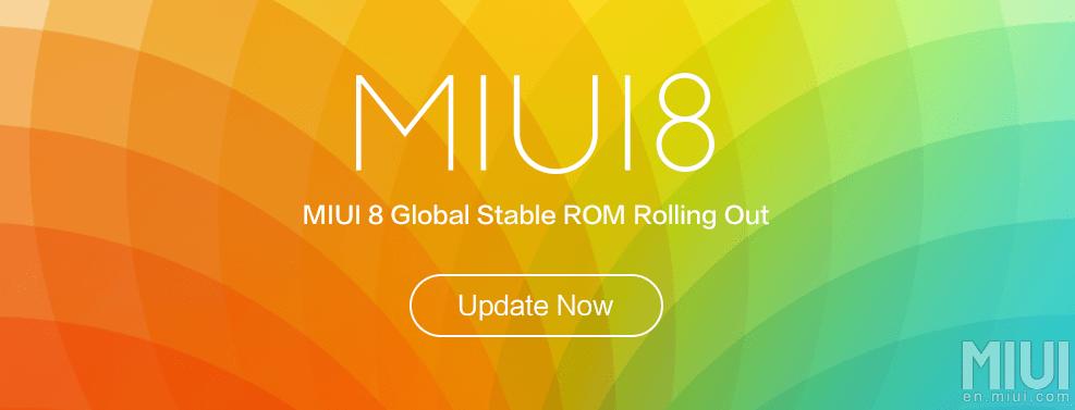 MIUI8 Update