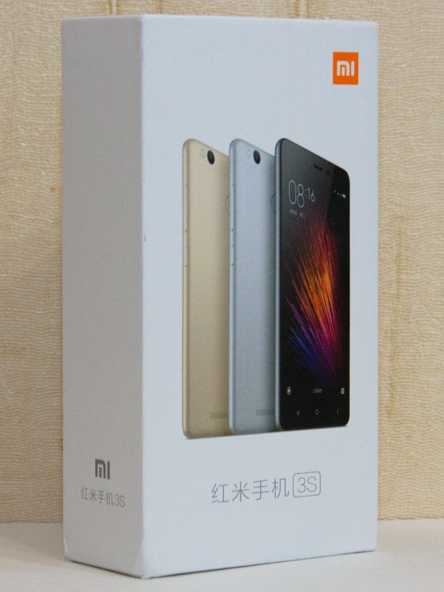 Xiaomi Redmi 3s Review - Box