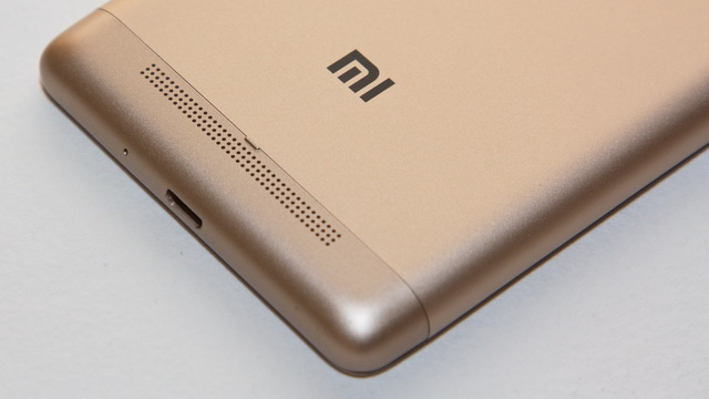 Xiaomi Redmi 3s Review - Down back side