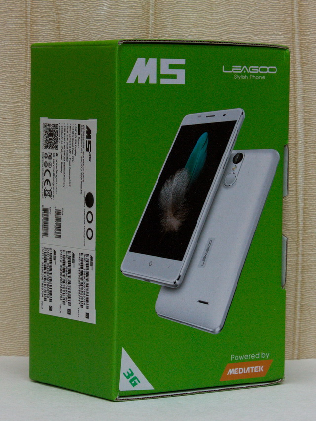 Leagoo M5 Review - Box