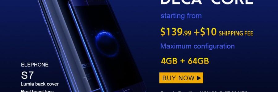 Elephone S7 и S7 Mini — предзаказ на GearBest