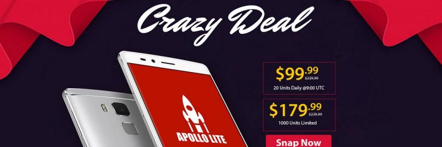 Vernee Apollo Lite за $99.99 распродажа на GearBest