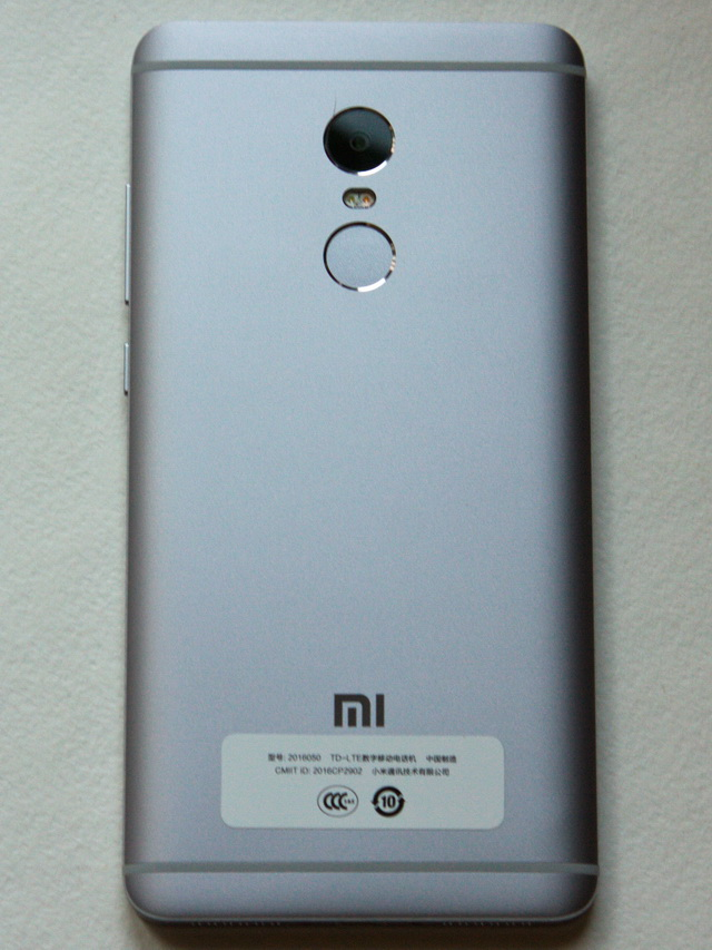 Xiaomi Redmi Note 4 Review - Back