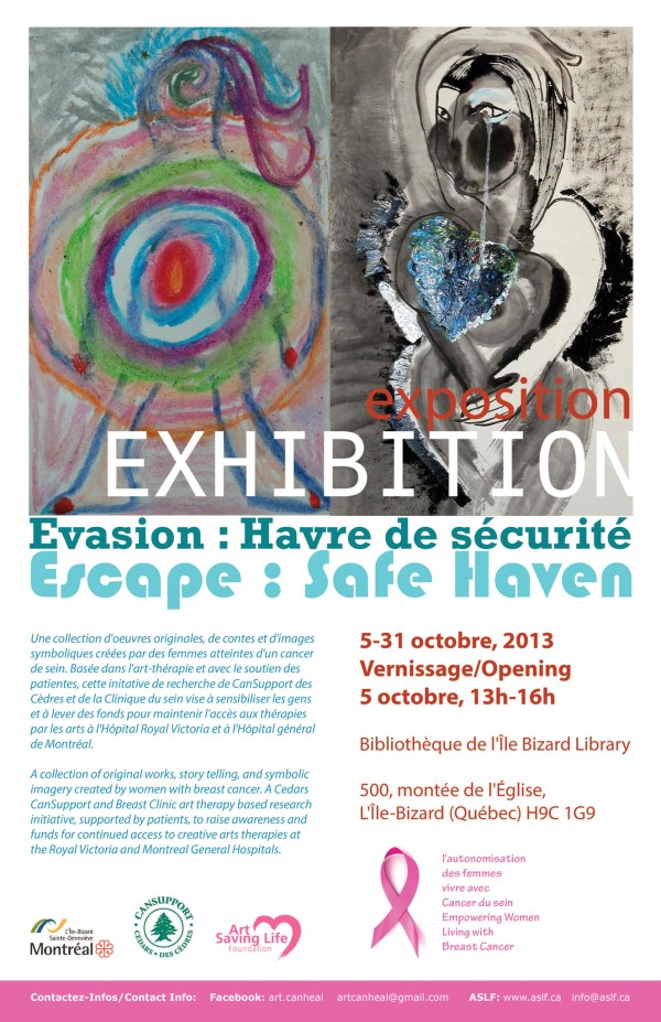 Life Art Exhibition Poster