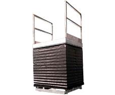tables avec soufflet en toile ou métallique