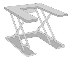 Tables extraplates