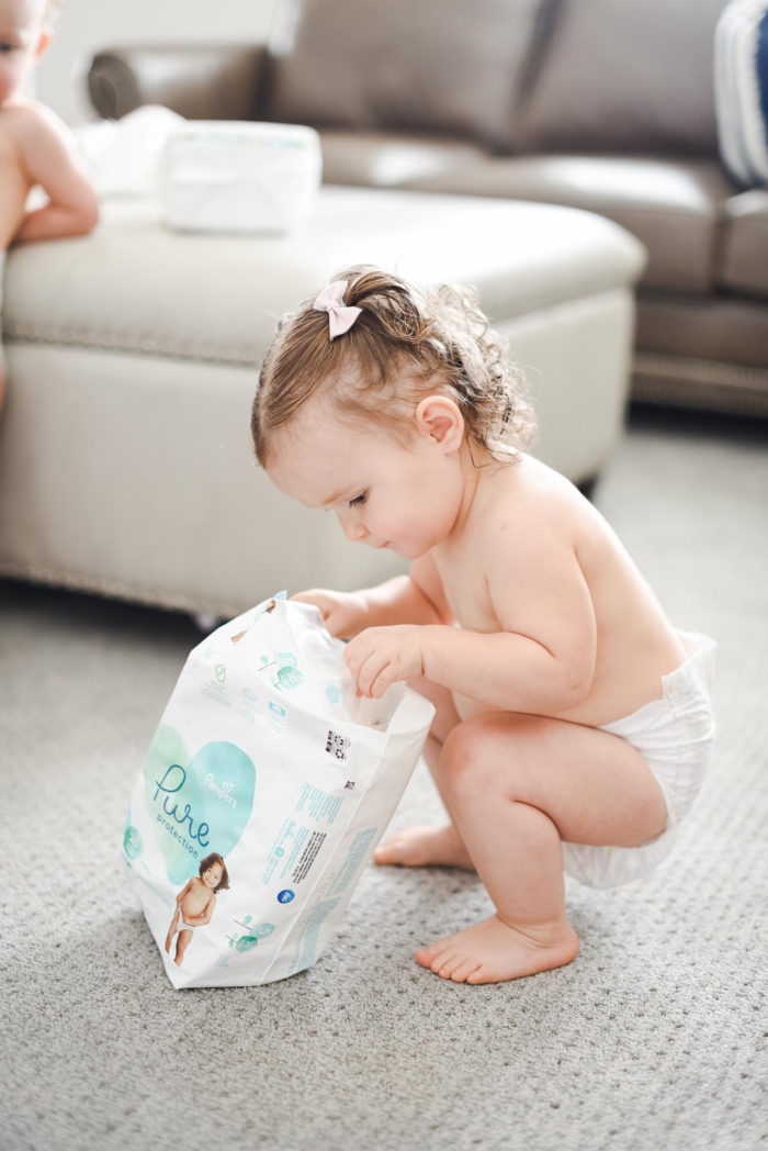 Pampers Pure Diapers and Wipes  Natural Diapers and Wipes