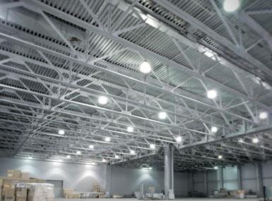 industrial warehouse lighting scenario