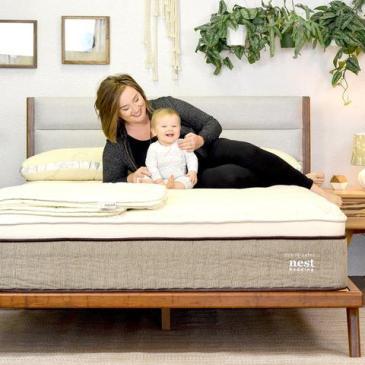 Photo: Nest hybrid latex mattress
