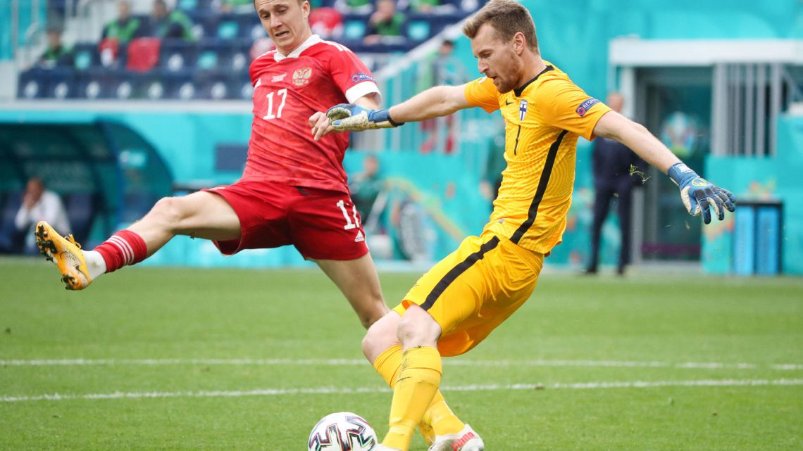 Euro 2020 : Premier succès pour la Russie