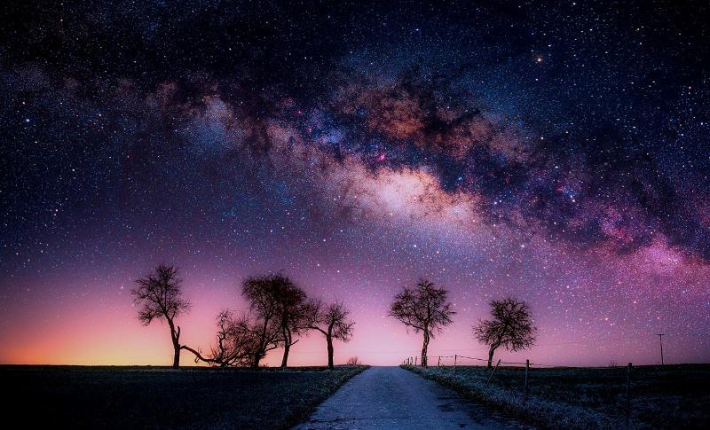لرؤية النجوم في حلم نظيف لماذا تحلم السماء