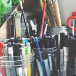 Ask Melanie: How Do I Reduce My Books and Art Supplies?