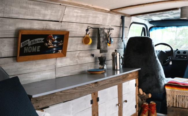 Our Custom Modern Boogie Van A Small Life