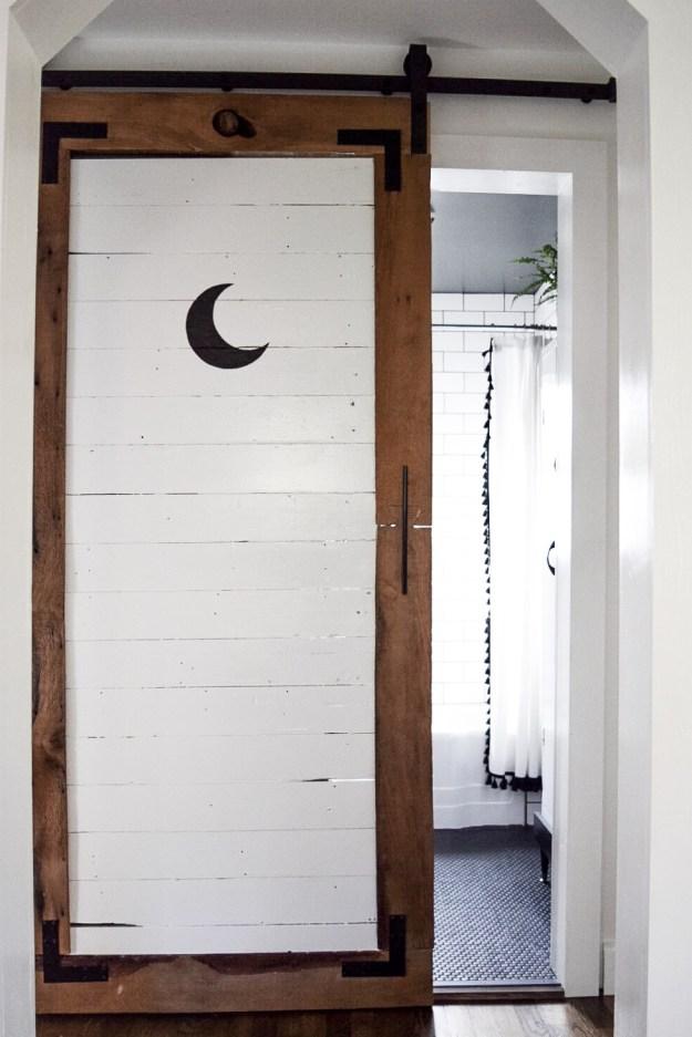 The Bathroom Door After