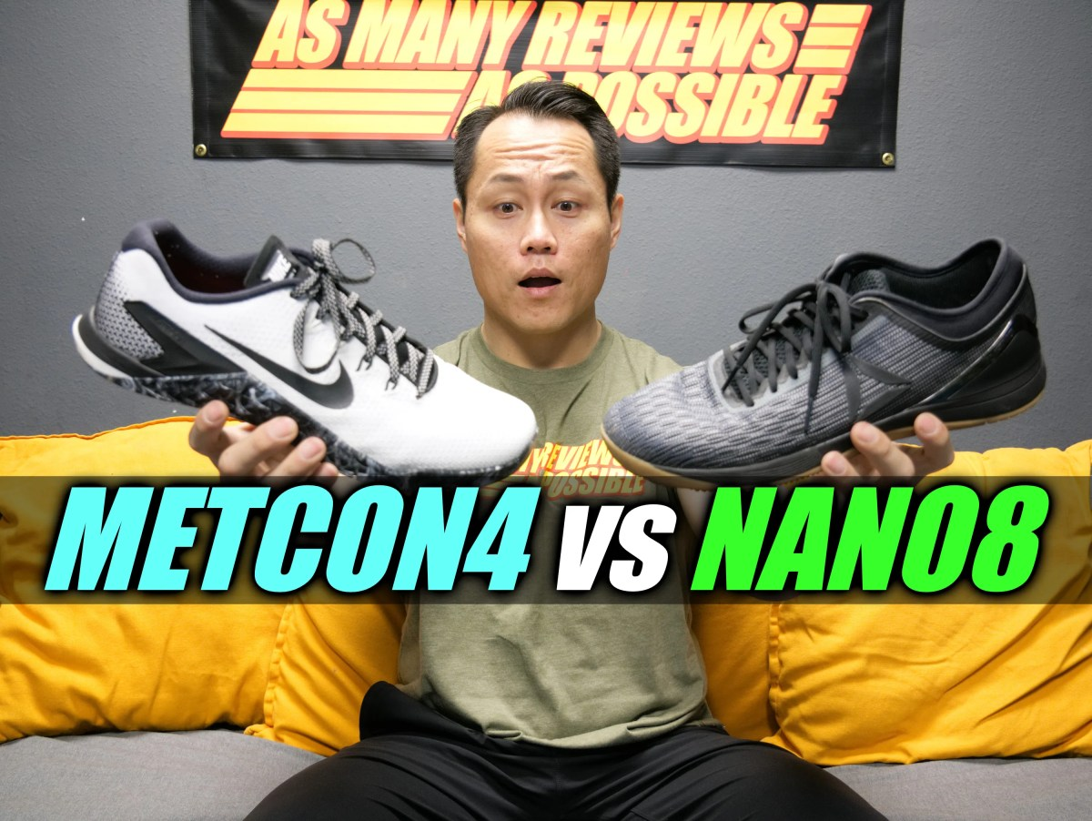 Nike METCON 4 vs Reebok NANO 8 Comparison!