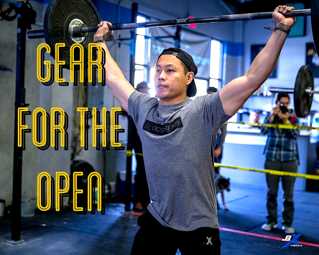 GEAR for the 2018 CrossFit OPEN!