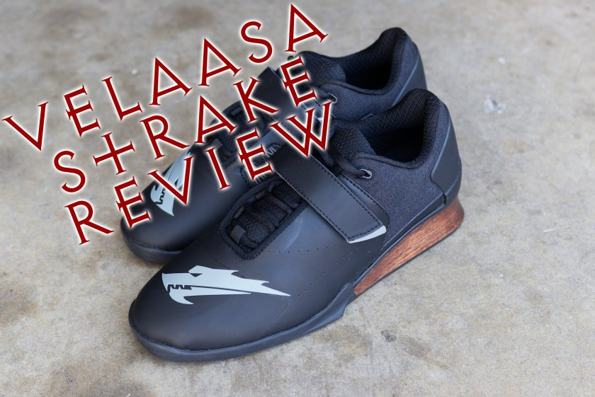 6e83e794abfa Velaasa Strake Weightlifting Shoe Review