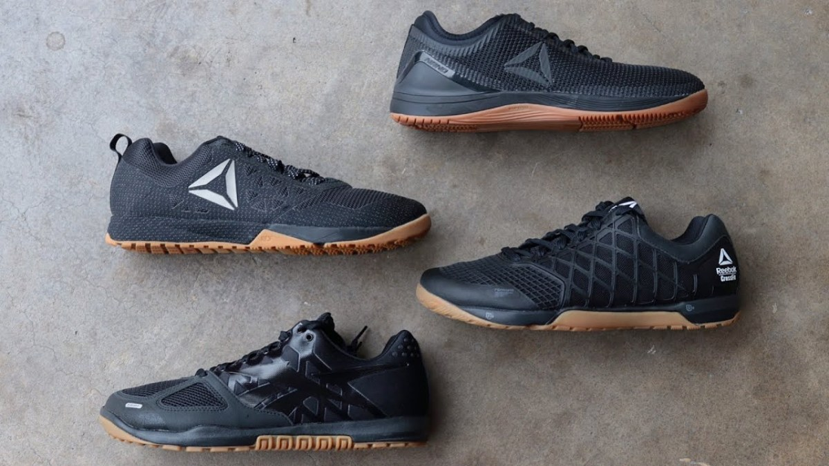 Reebok Black & Gum Nano 2, 4, 6, 8! Black Friday!
