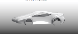 Surface modeling of a car body using styling tool made by me on Creo Parametric 2.0