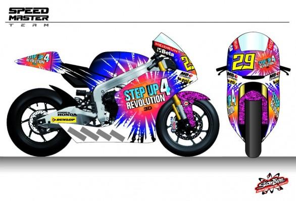 Livery Baru Andrea Iannone di Moto GP Seri San Marino