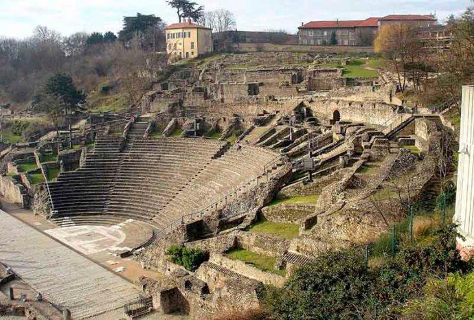 Que ver en Lyon Teatro romano