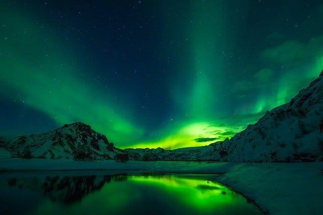 Visitar Reikiavik Auroras boreales
