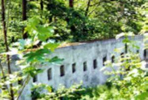 Sur la rive vaudoise, une ligne de fortification bien visible. PH.DY