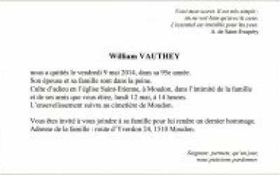 col William Vauthey